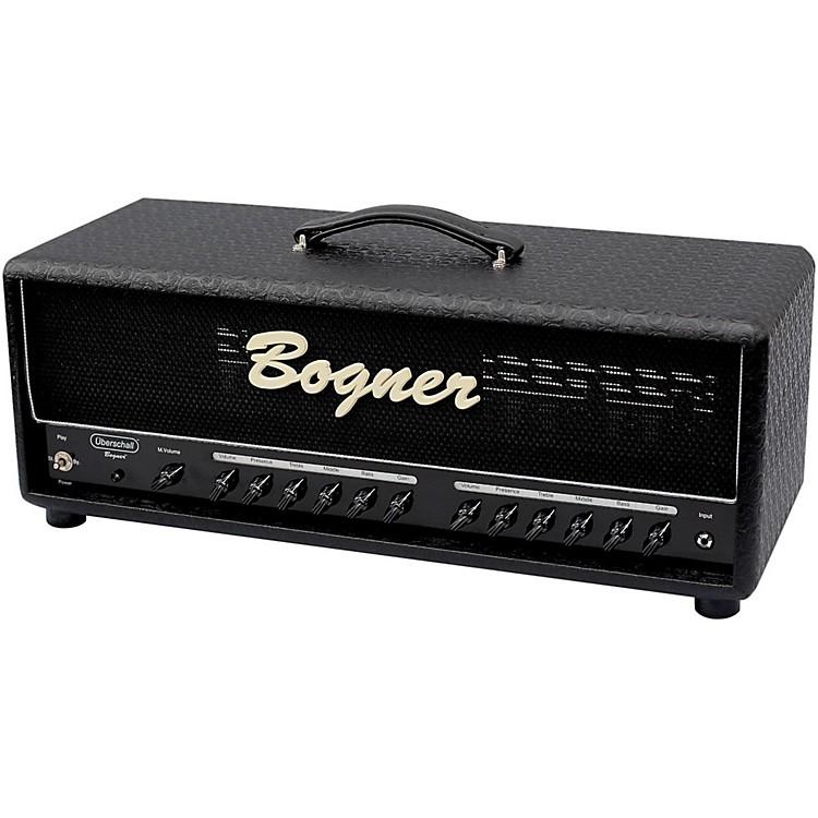 BognerUberschall 100W 6L6 Tube Guitar Amp Head Comet Black