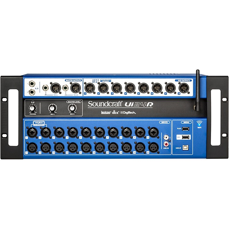 SoundcraftUi24R Digital Mixer