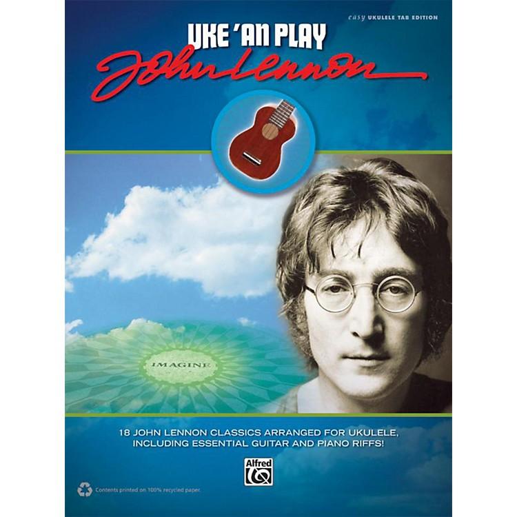 AlfredUke 'An Play John Lennon Easy Ukulele TAB Book