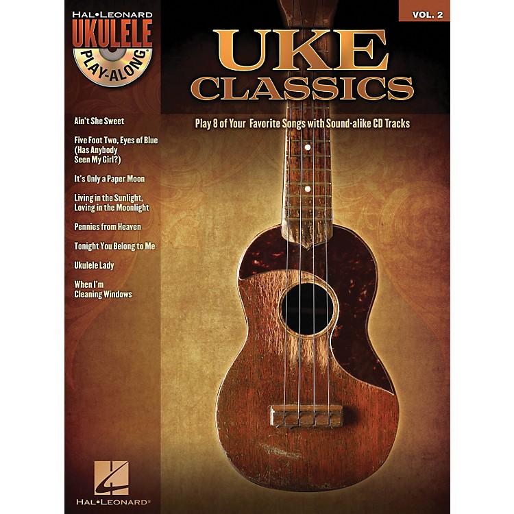 Hal LeonardUke Classics - Ukulele Play-Along Series Volume 2 Book/CD