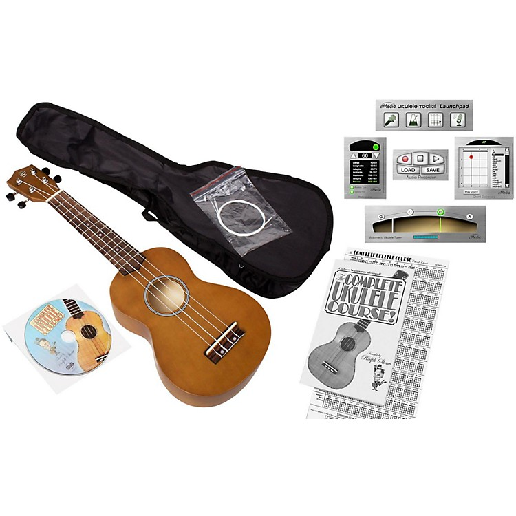 Emedia Ukulele Beginner Pack Natural