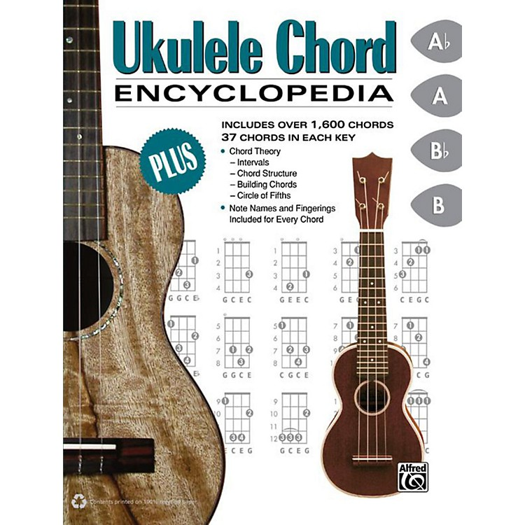 Alfred Ukulele Chord Encyclopedia - Book