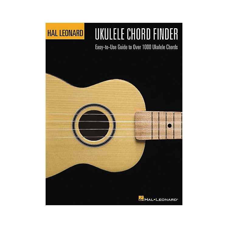 Hal Leonard Ukulele Chord Finder Book