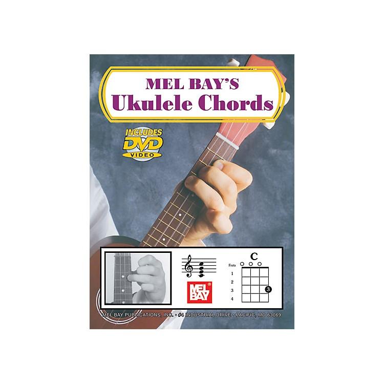 Mel BayUkulele Chords (Book/DVD)