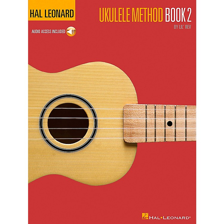 Hal Leonard Ukulele Method Book 2 with CD