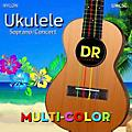 DR Strings Ukulele MultiColor Soprano Concert Strings