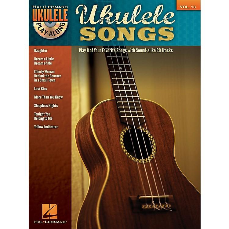 Hal LeonardUkulele Songs (Ukulele Play-Along Volume 13) Ukulele Play-Along Series Softcover with CD