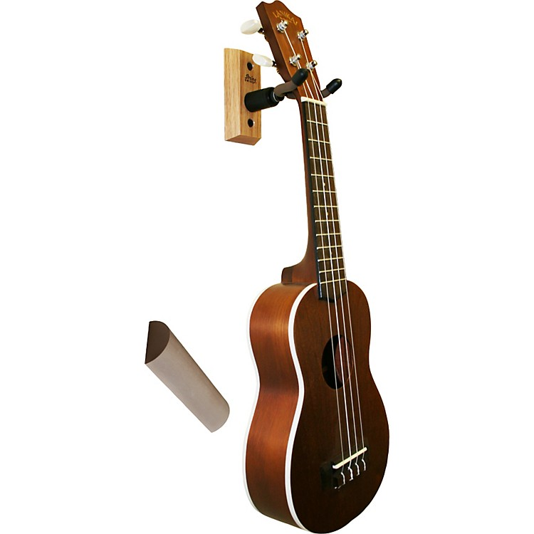 string swing ukulele wall hanger w wall bumper music123. Black Bedroom Furniture Sets. Home Design Ideas
