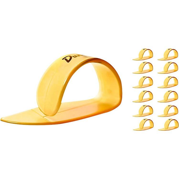 DunlopUltex Medium Thumbpicks Gold (12-Pack)