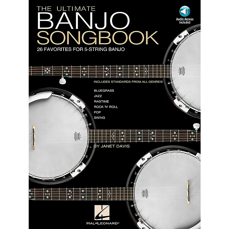 Hal LeonardUltimate Banjo Tab Songbook with CD