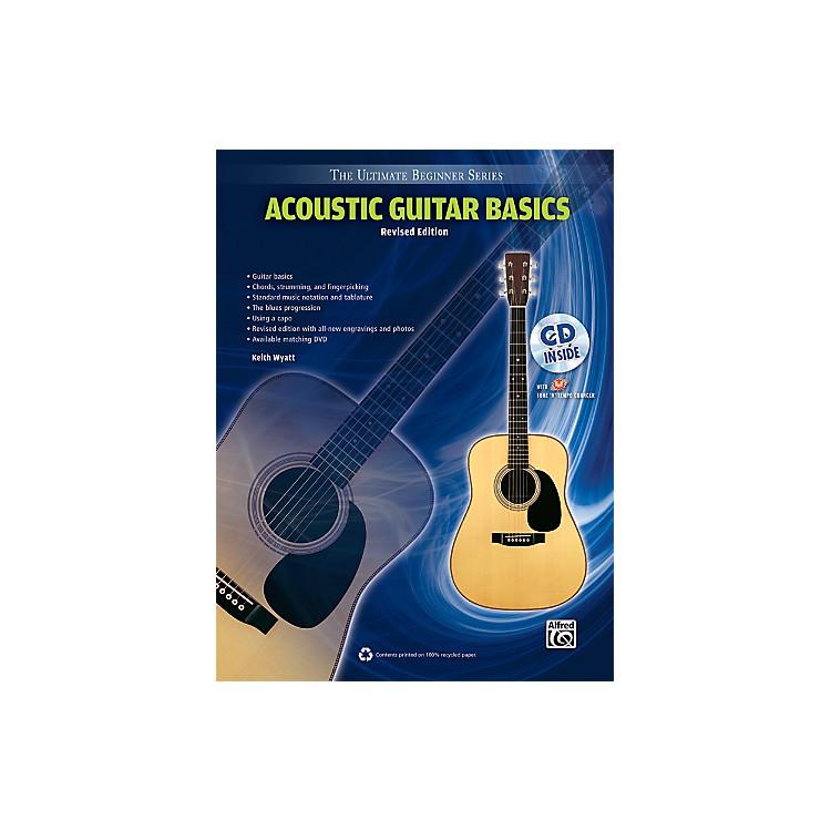 AlfredUltimate Beginner Acoustic Guitar Basics (Revised Edition) Book & CD