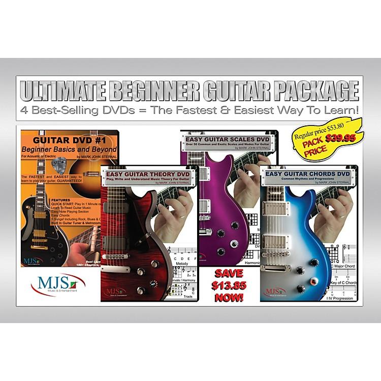 MJS Music PublicationsUltimate Beginner Guitar 4 DVD Package