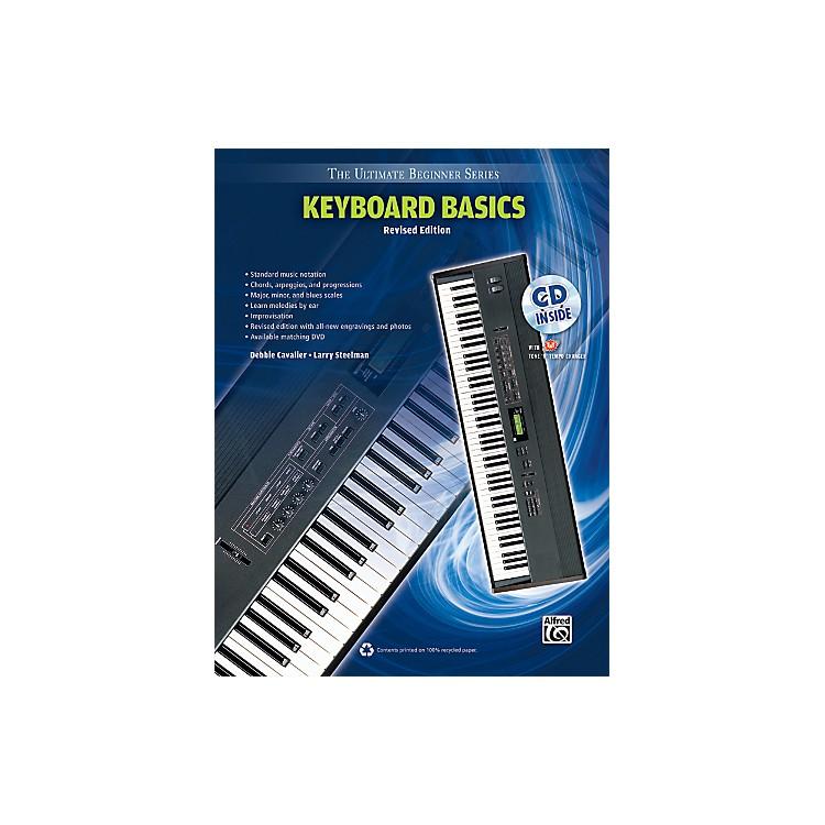 AlfredUltimate Beginner Keyboard Basics (Revised Edition) Book & CD