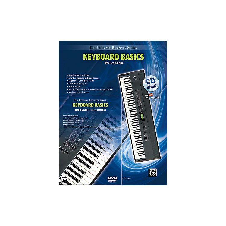 AlfredUltimate Beginner Mega Pak Keyboard Basics (Rev. Ed.) Book, CD & DVD