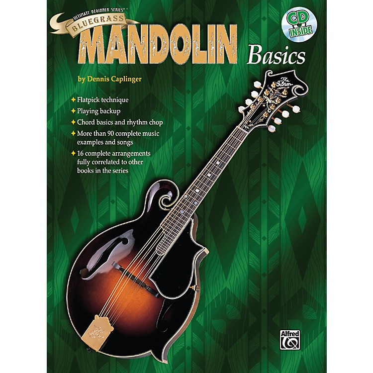 AlfredUltimate Beginner Series Bluegrass Mandolin Basics Book & CD