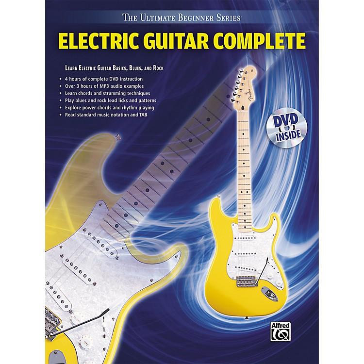 AlfredUltimate Beginner Series Electric Guitar Complete Book & DVD