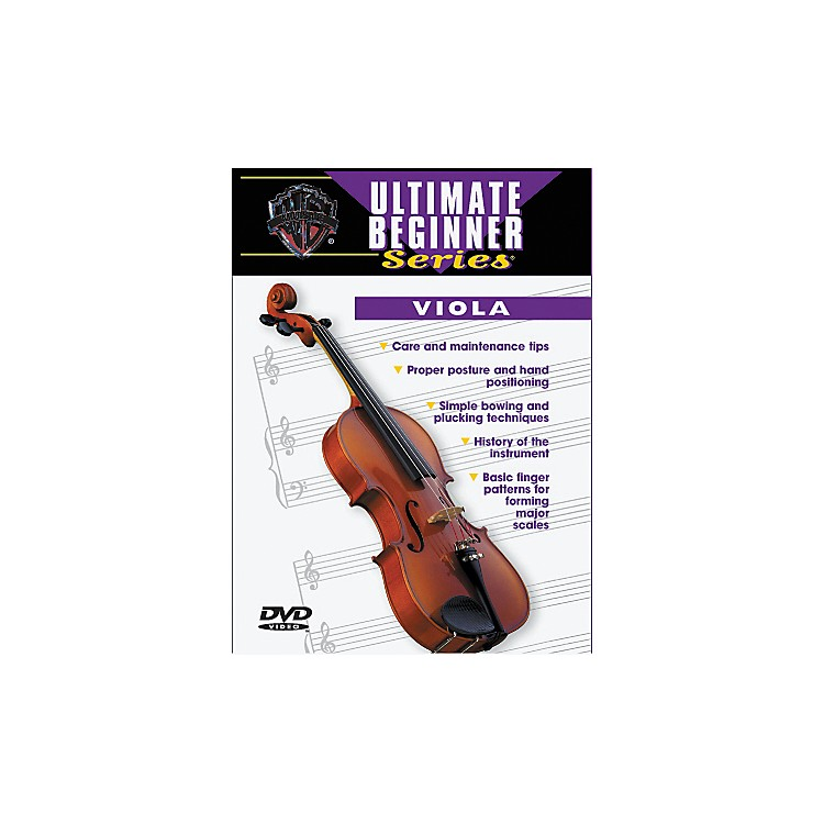 Warner Bros Ultimate Beginner Series Viola (DVD)