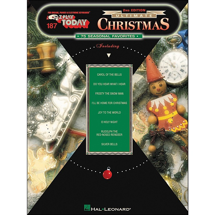 Hal Leonard Ultimate Christmas 75 Seasonal Favorites 2nd Edition E-Z Play 187