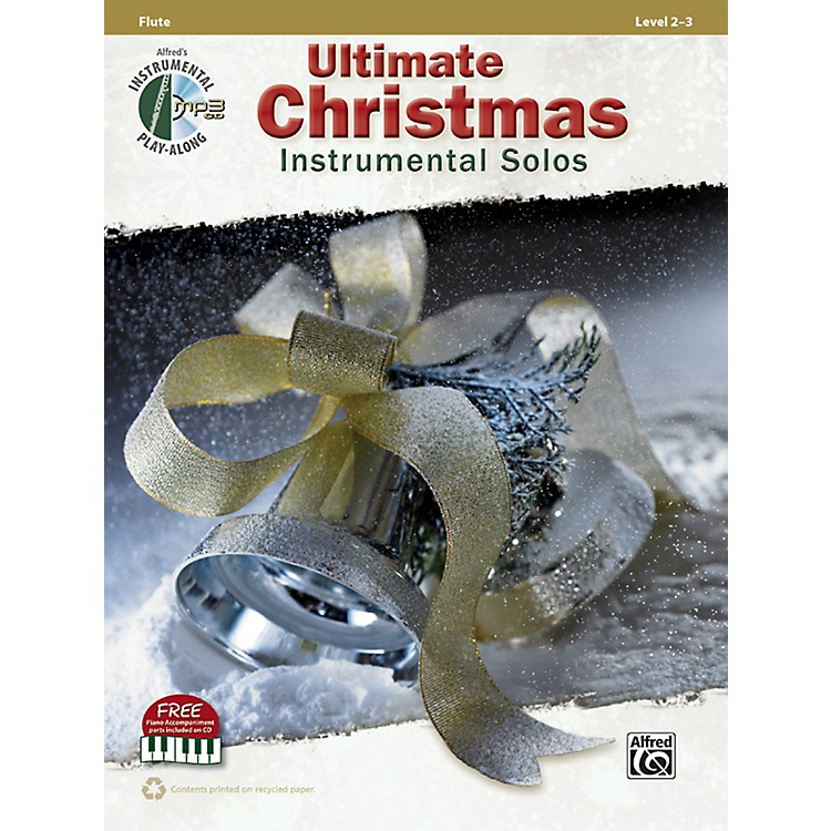 AlfredUltimate Christmas Instrumental Solos Flute Book & CD