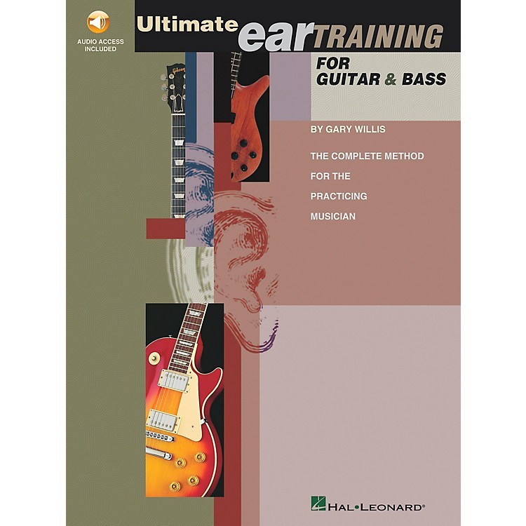 Hal Leonard Ultimate Eartraining for Guitar and Bass Book/CD