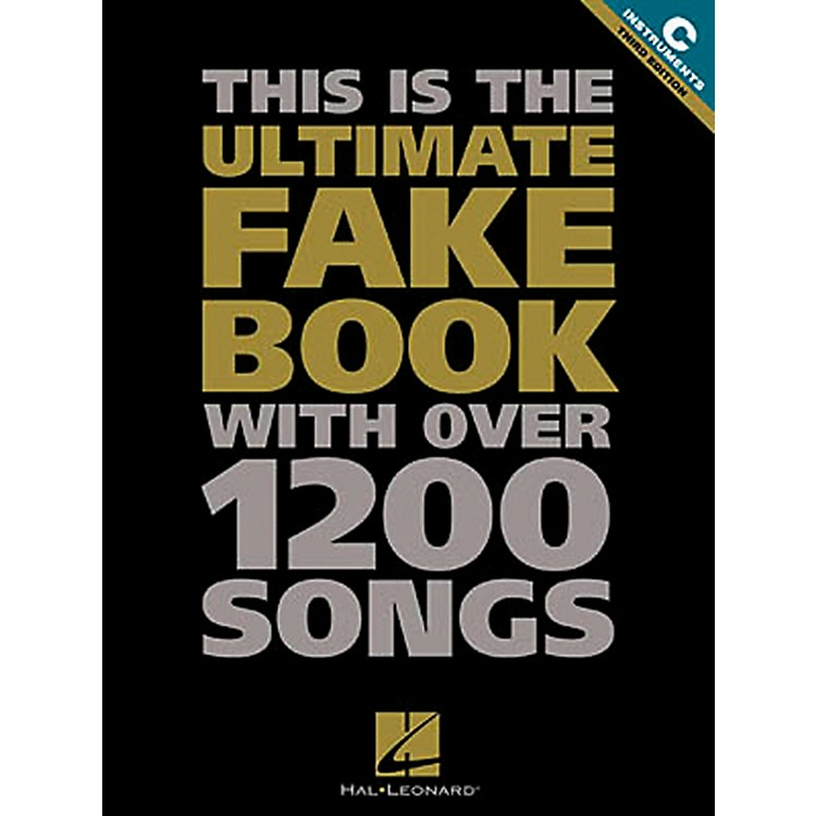 Hal LeonardUltimate Fake Book #1