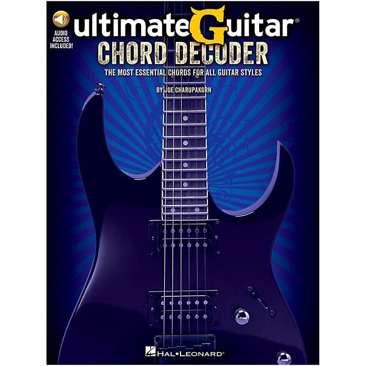 Hal LeonardUltimate-Guitar Chord Decoder Book/Online Audio