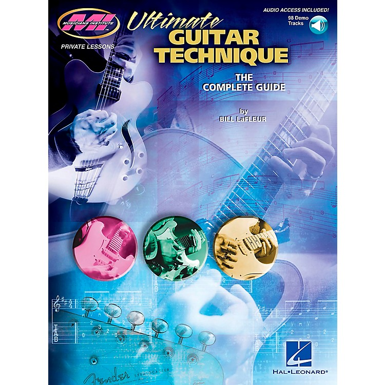Musicians InstituteUltimate Guitar Technique Book with CD