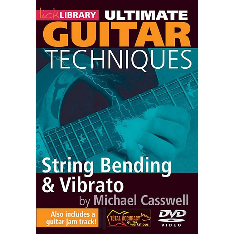 Hal Leonard Ultimate Guitar Techniques - String Bending And Vibrato Lick Library DVD