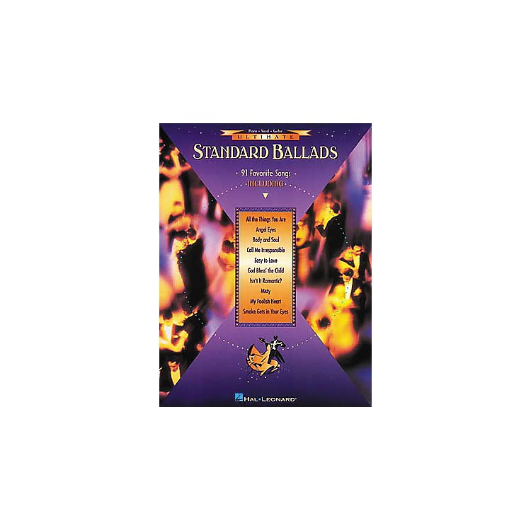Hal Leonard Ultimate Standard Ballads Piano, Vocal, Guitar Songbook