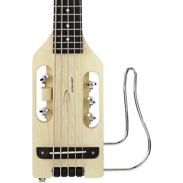 Traveler Guitar Ultra-Light 5-String Acoustic-Electric Travel Bass Guitar Natural