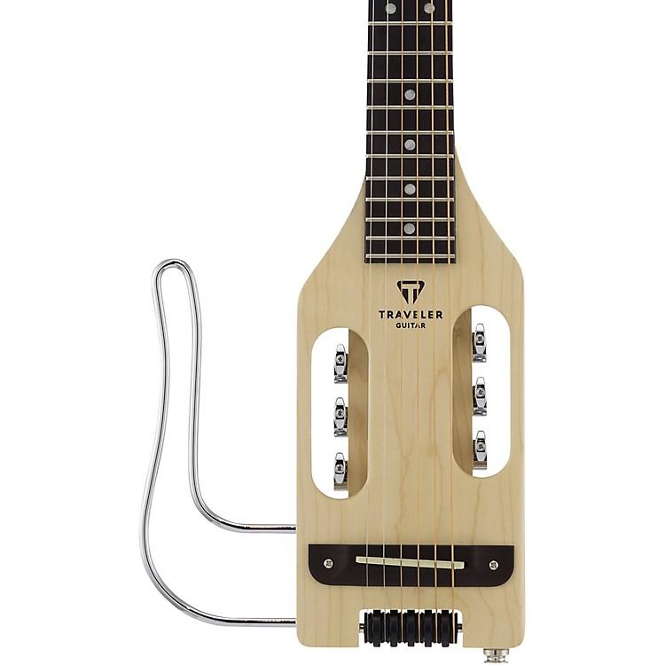 Traveler GuitarUltra-Light Acoustic-Electric Travel Guitar Left-HandedNatural