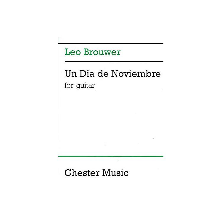Chester MusicUn Dia de Noviembre (for Guitar) Music Sales America Series