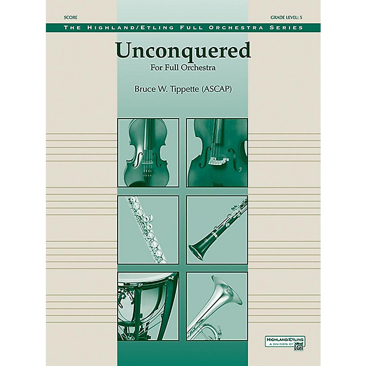 Alfred Unconquered Full Orchestra Grade 5