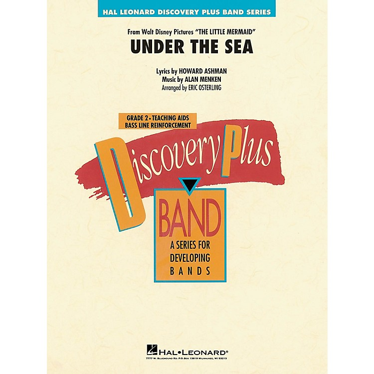 Hal LeonardUnder the Sea Concert Band Level 1 Arranged by Eric Osterling