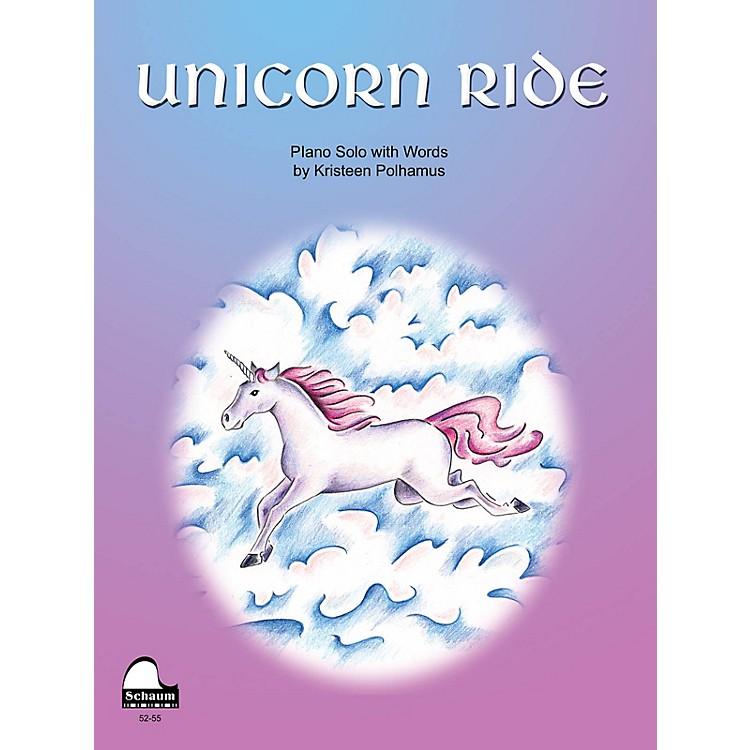 SCHAUMUnicorn Ride Educational Piano Series Softcover