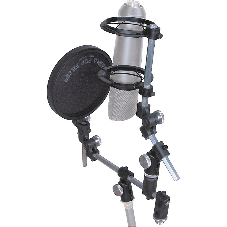 Sabra Som Universal Microphone Shockmount with Pop Filter