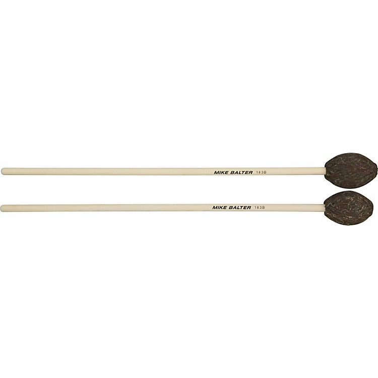 Mike BalterUniversal Series Birch Handle Marimba MalletsBrown YarnMedium to Medium-Hard