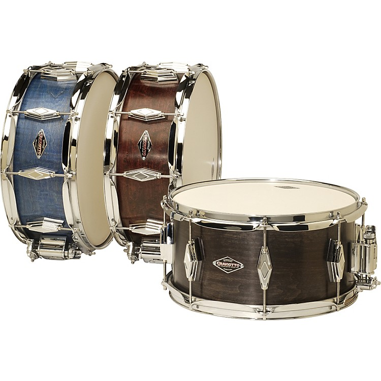 CraviottoUnlimited Snare DrumRed6.5x13