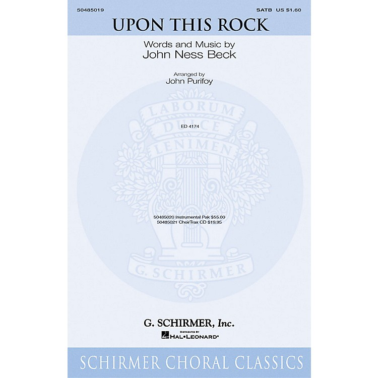 G. SchirmerUpon This Rock IPAKO