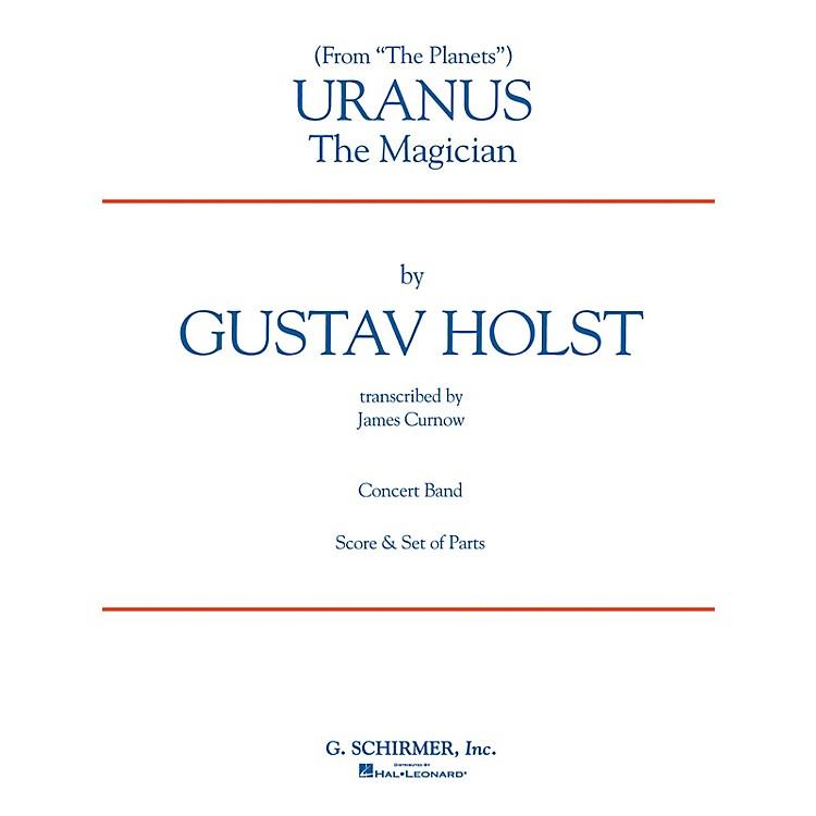 G. SchirmerUranus (Full Score) Concert Band Level 4-5 Composed by Gustav Holst