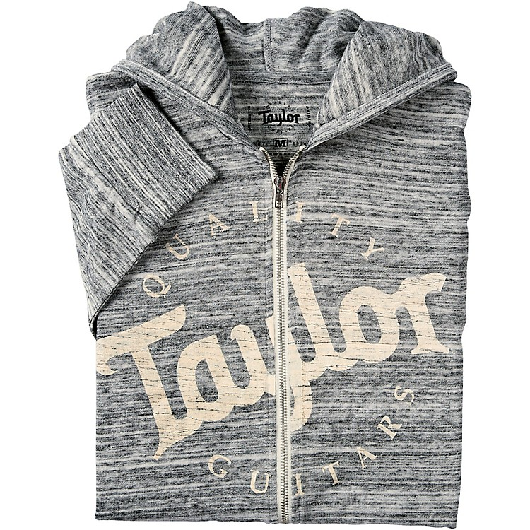 TaylorUrban Zip HoodySmallHeather Gray