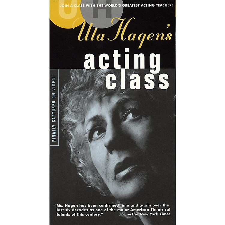 Applause BooksUta Hagen's Acting Class (Two-Video Set) Applause Books Series Video