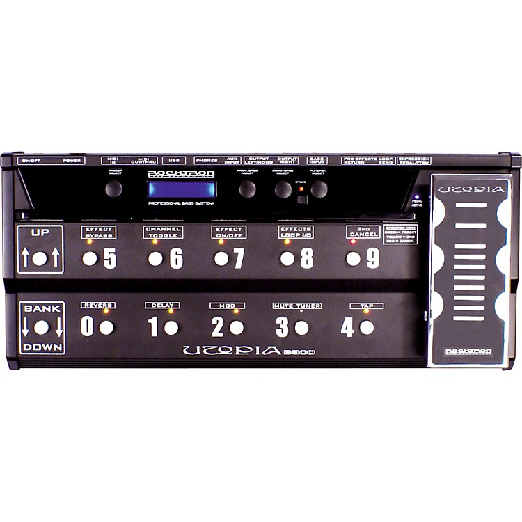 RocktronUtopia B-300 Bass Floor Multi-Effects Pedal
