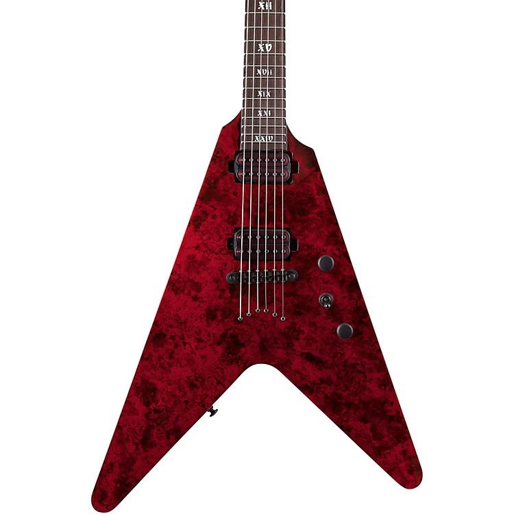 Schecter Guitar ResearchV-1 Apocalypse Electric GuitarRed Reign