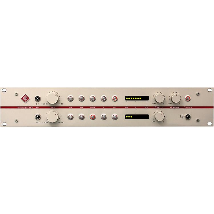 NeumannV 402 2-Channel Mic Preamp