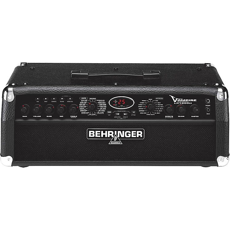 BehringerV-AMPIRE LX1200H Modeling Guitar Head