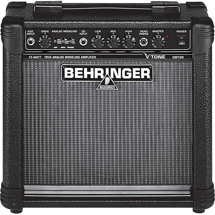 BehringerV-Tone GM108 15W Modeling Guitar Combo Amp