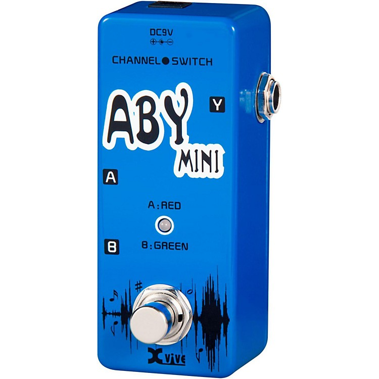 XVive V12 ABY Mini Footswitch