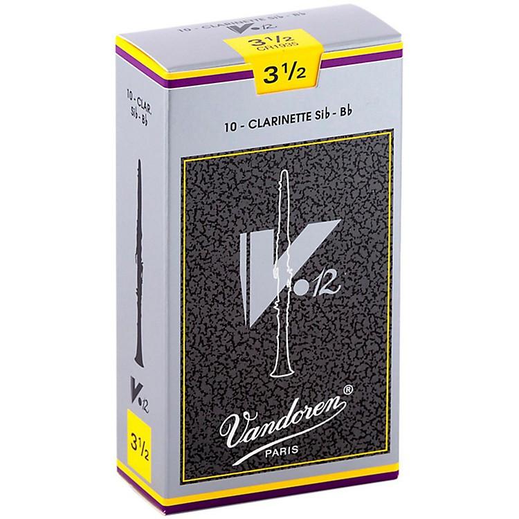 VandorenV12 Bb Clarinet ReedsStrength 3.5Box of 10