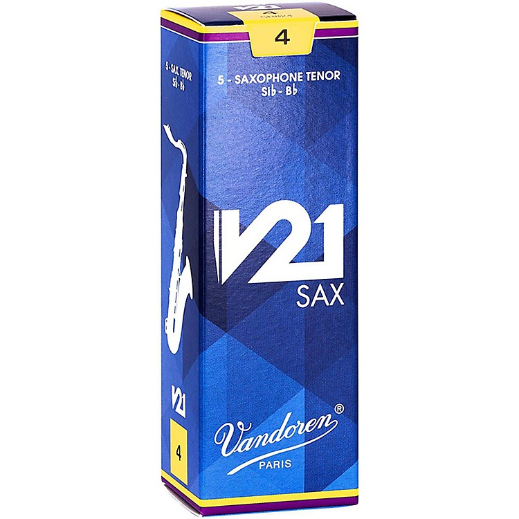 Vandoren V21 Tenor Saxophone Reeds, Box of 5 4